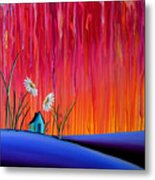Where Flowers Bloom Metal Print by Cindy Thornton