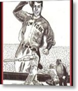 Where Have You Gone Joe Dimaggio  Metal Print