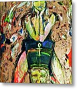 Where Is Nefertiti? V1 Metal Print