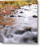 Where Peaceful Waters Flow Metal Print
