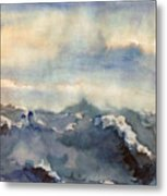 Where Sky Meets Ocean Metal Print