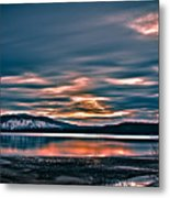 Where The River Ends Metal Print