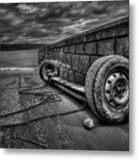 Where The Roads End... Metal Print