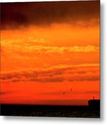 Where The Sky Meets The Sea Metal Print