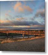 Where The Years Behind Are Piled Up High Metal Print