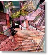 Which Way Up Metal Print