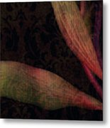 While The Flowers Slept Metal Print
