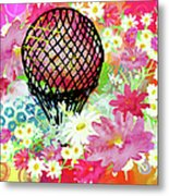 Whimsical Musing High In The Air Metal Print