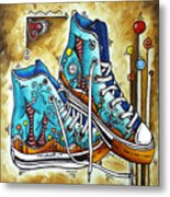 Whimsical Shoes By Madart Metal Print