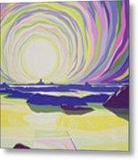 Whirling Sunrise - La Rocque Metal Print