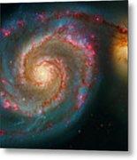 Whirlpool Galaxy M51 Metal Print