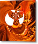 Whirls Abstract Metal Print