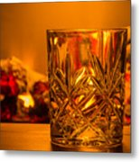 Whiskey In A Glass Metal Print