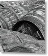 Whisky Barrels Metal Print by (C)Andrew Hounslea