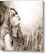 Whisper A Little Prayer For Me Metal Print