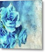 Whispers Of Blue Metal Print