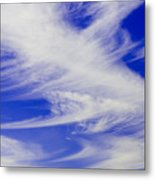 Whispy Clouds Metal Print