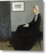 Whistlers Mother Metal Print