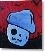 Whistlin Zombie Mushroom Metal Print by Jera Sky