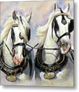 Whitbread Shires Metal Print