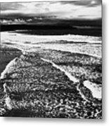 Whitby Sea And Sky  Metal Print