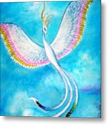 White Bird From Kingdom Of Immortals Metal Print