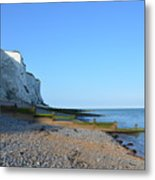 White Cliffs Of Dover Metal Print