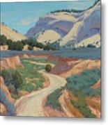 White Cliffs Of Johnson Canyon 18x24 Metal Print