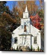 Little Country Church Metal Print
