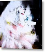 White Demon Metal Print