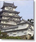 White Heron Castle - Himeji City Japan Metal Print