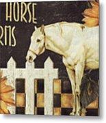 White Horse Farms Vermont Metal Print