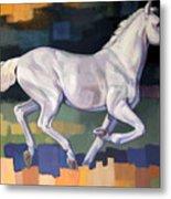 White Horse2 Metal Print