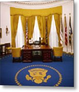 White House: Oval Office Metal Print