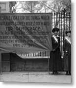 White House: Suffragettes Metal Print