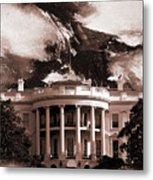 White House Washington Dc Metal Print