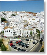 White Houses Metal Print