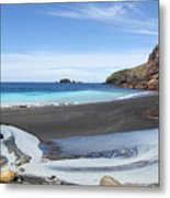 White Island In New Zealand Metal Print