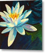 White Lily IIi Metal Print by Marion Rose