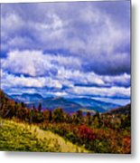White Mountains Metal Print