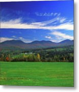 White Mountains From Route 2 Metal Print