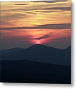 White Mountains Nh - Sunset Metal Print