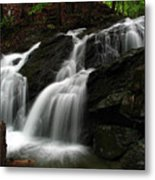 White Mountains Waterfall Metal Print by Juergen Roth