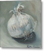 White Onion No. 1 Metal Print