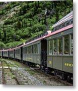 White Pass And Yukon Railway Metal Print