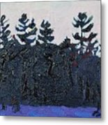 White Pine Sunrise Metal Print