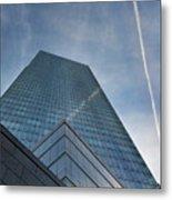 White Plains Office Buildings 1 Metal Print