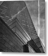 White Plains Office Buildings 3 Metal Print