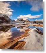 White Pocket Northern Arizona Metal Print