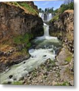 White River Falls C Metal Print